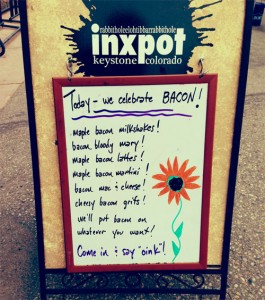 inxpot bacon sign