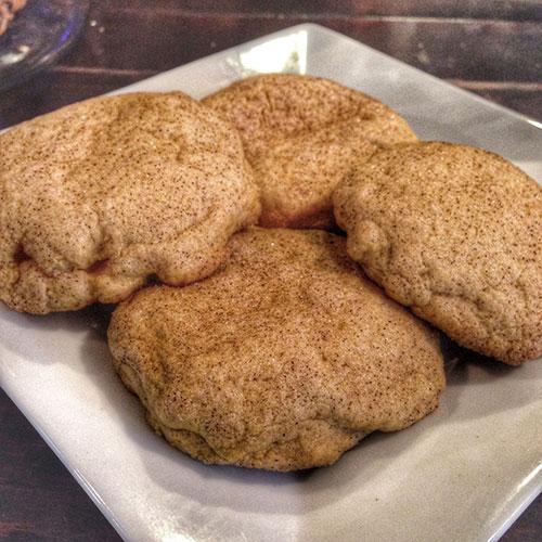 pumpkin cheese cake cookie