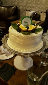 Cake baked by Pauli