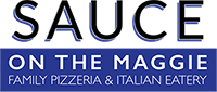sauce on the maggie logo